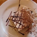 OH MY GOODNESS…..the Tiramisu!