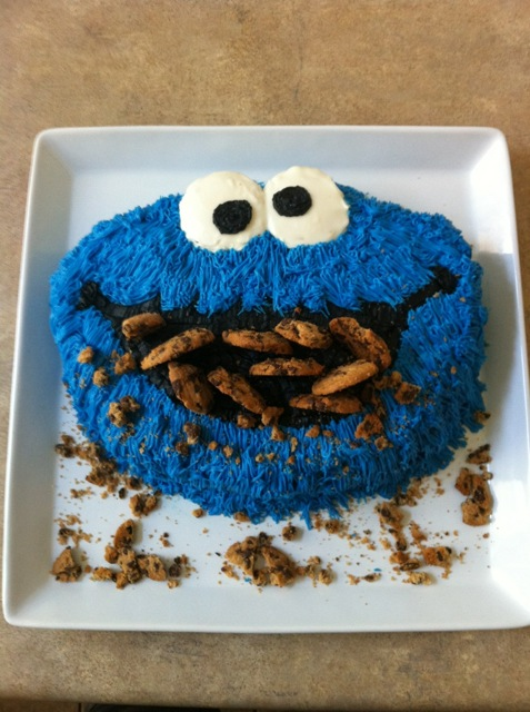 GreatFoodFunPlaces.comHow to Create a Cookie Monster Cake ...