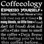 Espresso Yourself…Coffeeology