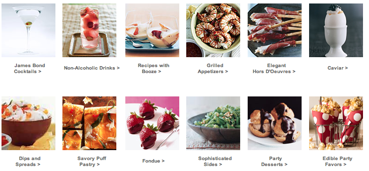 Oscar-nominated Movie Menus & Recipes