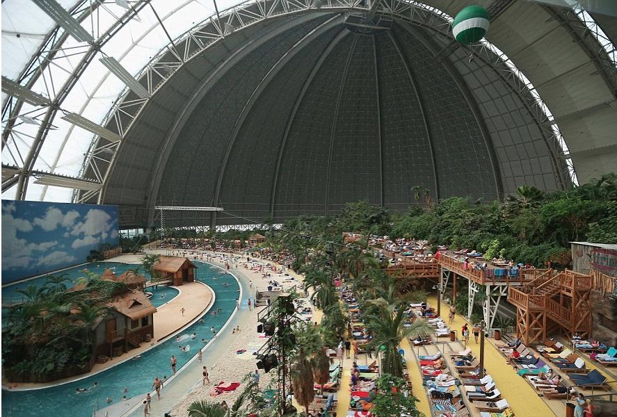 Indoor Tropical Island Resort