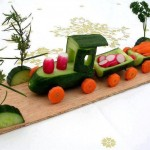 """""""All Aboard!  Who's on the Veggie Train?"""""""