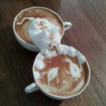 Coffee Art? This is Coffee Sculpture!