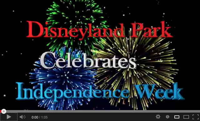 Disneyland Fireworks Display