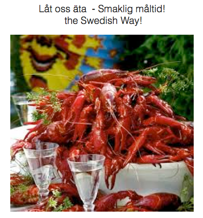 Ikea Summer Crayfish Party