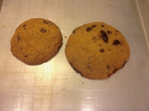 Chocolate Chip Cookie Test