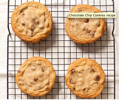 Chocolate Chip Cookies - photo by Lara Hata