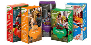 Girl Scout Cookie Dessert Challenge