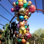 Glass Sculptures in the Desert