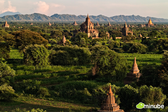 Could the world's best sunrise be in the ancient city of Bagan? Many would say so. Just imagine: the mist evaporating in the day's first light, revealing a near-endless plain of ancient pagodas. (Photo by Gorka Nelson)