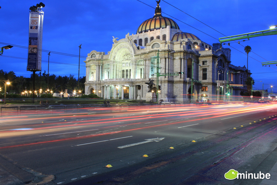 Mexico City is a delightful chaos of sights, sounds, and colors. Home to over 20 million people, the city offers beautiful colonial architecture, nearby ruins, and some seriously good food. (Photo by Azu Azul)