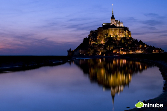 As over 3 million annual visitors can attest, there are few sights quite as evocative or romantic as the spire of Mont Saint Michel Abbey rising above the tranquil Normandy coast. (Photo by Michel Exaim)