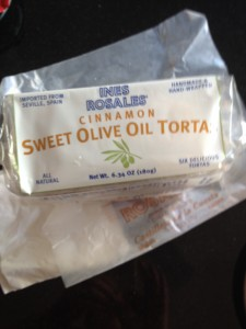 Sweet Treat: Spanish Olive Oil Tortas