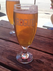 Rogue Beer . . . and Lunch