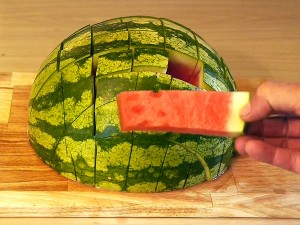 Tuesday Tidbits: Watermelon Slicing