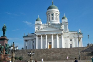 Helsinki, Finland - on the Scandinavia Cruise