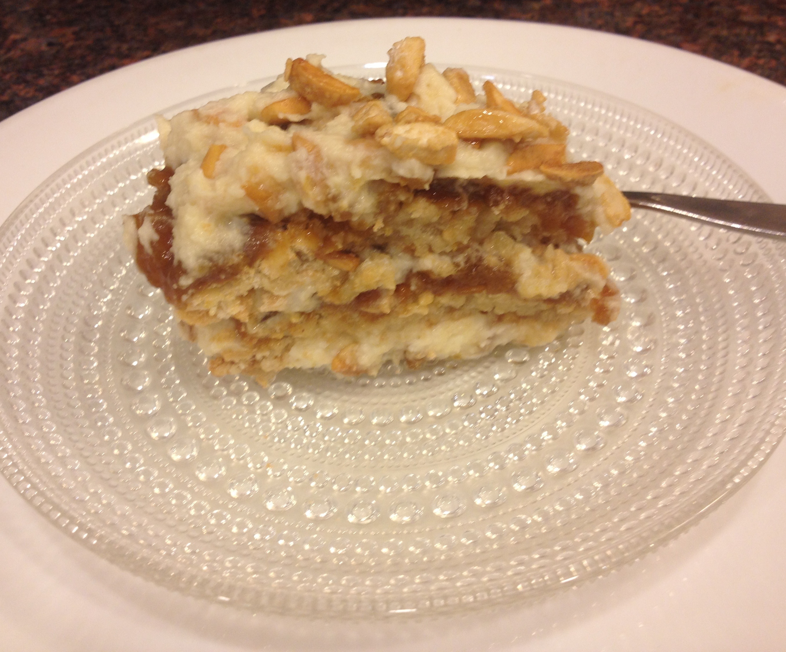 Apricot Almond Layer Cake