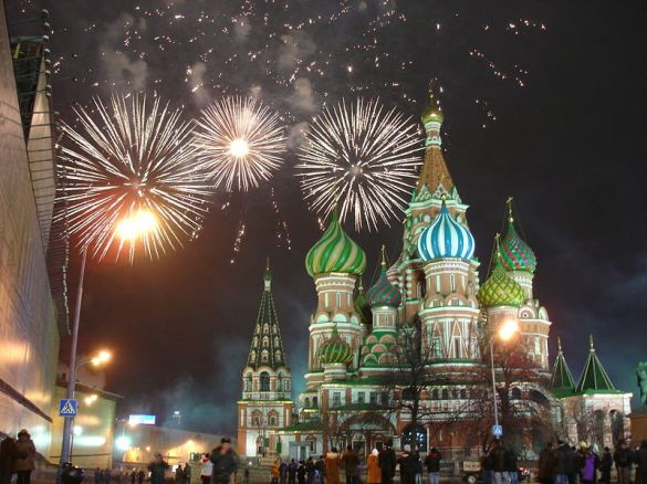 Happy New Year from Russia