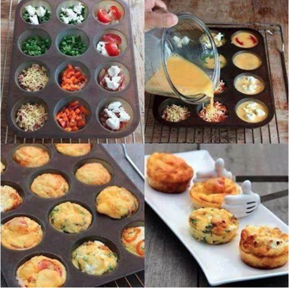 Easy & Fun Egg Muffins