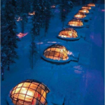 Sleep under the Northern Lights!