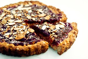Berry - Nutty Tart