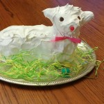 Let's Eat CAKE! Easter Lamb Cake